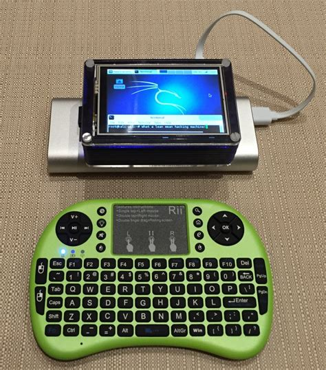 pi kali raspberry linux sticky portable builds screen touch fingers install case interface finger tft drones craziness ctf long project