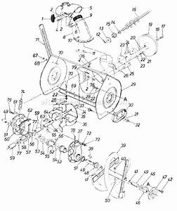 Mtd 315-960-000 Parts List And Diagram
