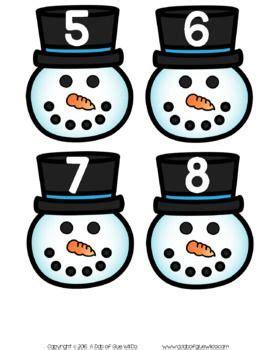 snowman match ups bundle  images initial sounds