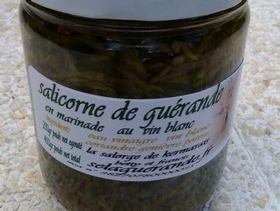 cuisiner salicorne salicorne de guérande