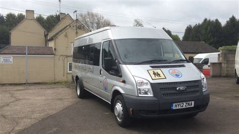 2012 Ford Transit Minibus Review