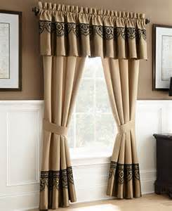 closeout waterford bannon 24 quot x 55 quot window valance