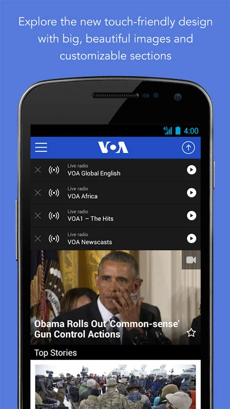 Voa App by Voa News Android Apps On Play