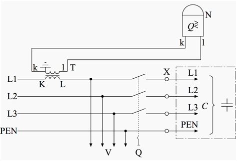 Wiring Power Factor Relay Side Circuit