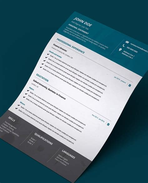 If you can do this effectively, you will get plenty of responses from your applications, and should be able to land the. Resume Format For Job Applications- Teal Appeal - Editable 1 Page PDF