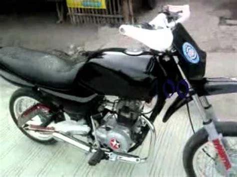 bajaj ct100 modified