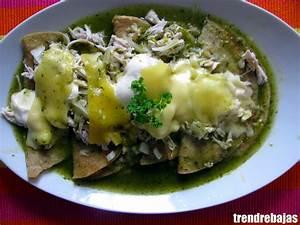 Shrimp And Cotija Enchiladas With Salsa Verde And Crema ...
