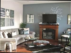 Merveilleux Conseils Peinture Chambre Deux Couleurs #3 Indogate Salon Gris Galet Et Blanc