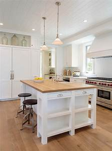 Flatscreen TV Niche Over Fridge Transitional Kitchen