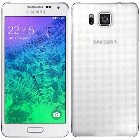 samsung galaxy alpha sm gt lte  unlocked white