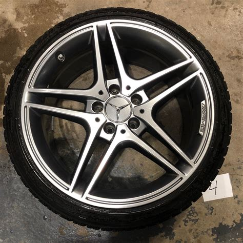 When it comes to run flat tires cost, it is important for potential buyers to understand that they are far more expensive than the conventional tires. W204 Mercedes Benz Wheels AMG & Blizzak LM60 Run Flat Winter Tires 235/40/18 - MBWorld.org Forums