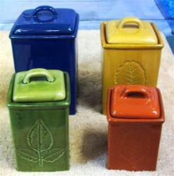 kitchen canister set ceramic lillian vernon ceramic kitchen canister set collectible 609 ebay