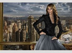 World of faces Melania Trump – beautiful model and First