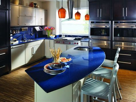 beautiful blue quartz countertops  countertop trends counter tops  splash