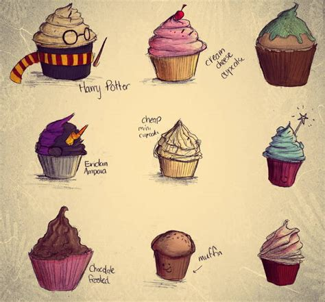 cupcake drawings  ai