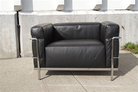 lc3 grand confort lounge chair by le corbusier for sale at
