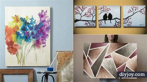 Painting Ideas Diy by 36 Diy Canvas Painting Ideas