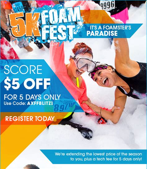 03600 On The Run Coupon Code by Coupon Code 5k Foam Coupons