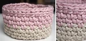 Corbeille Au Crochet : petite maille le crochet c 39 est pas ringard ~ Preciouscoupons.com Idées de Décoration