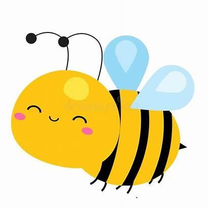 Bee Cartoon Insect Character Clipart Illustrazione Vettoriale