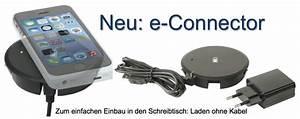 Handy Ohne Kabel Laden : b roschreibtisch elektrifizierung handy kabellos aufladen wireless charger mobiltelefon einbau ~ Yasmunasinghe.com Haus und Dekorationen