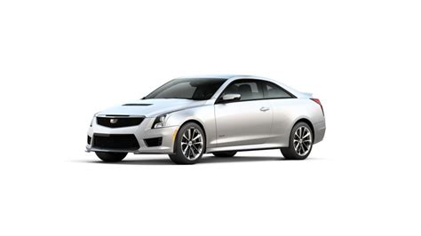 dallas   cadillac ats  coupe crystal white tricoat
