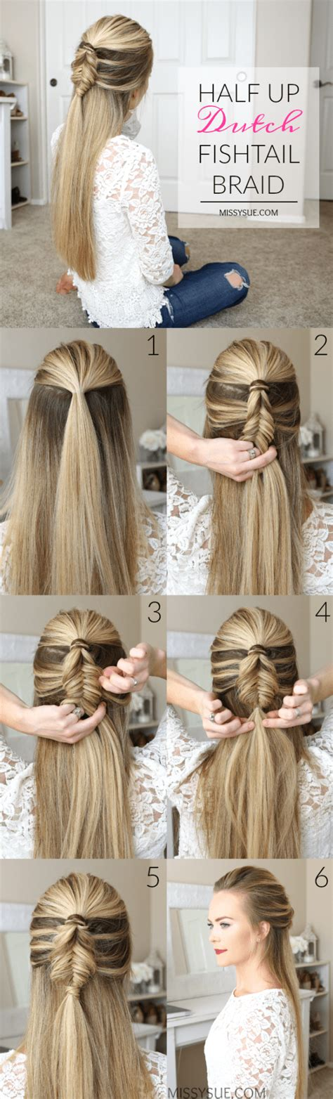 ready   minutes easy hairstyles  trendy girls