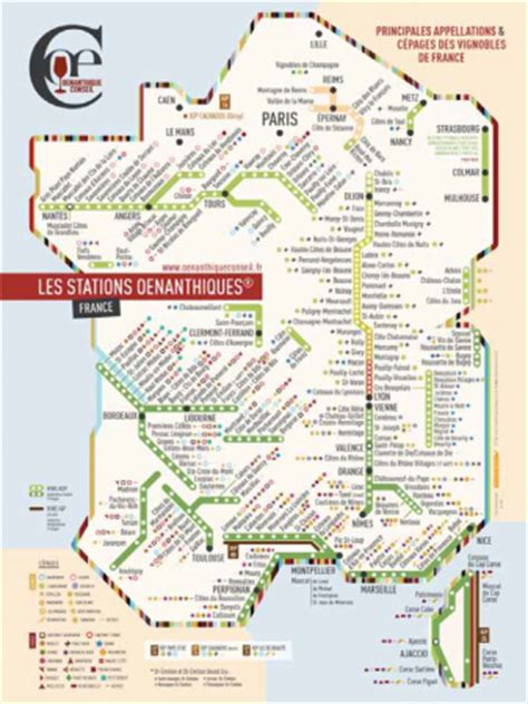 Carte Vin Metro by Cartes Des Principales Appellations Et C 233 Pages Des