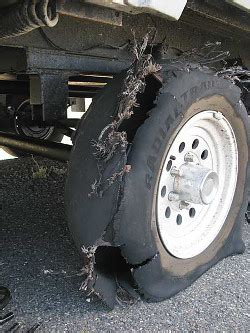 Why Do Boat Trailer Tires Wear On The Inside by How To Avoid Flat Spots On Your Trailer Tires Irv2 Forum