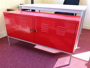 Casier De Rangement Ikea : casier de rangement metallique laque rouge de marque ikea ~ Premium-room.com Idées de Décoration