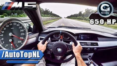 BMW M5 V10 BI-SUPERCHARGED G POWER AUTOBAHN POV by ...