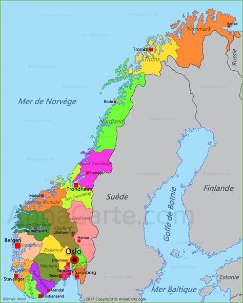 Carte Du Monde Avec Norvege by Carte Norv 232 Ge Annacarte