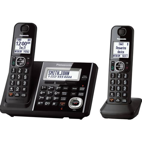 cordless phone with answering machine panasonic cordless phone and answering machine with 2 kx