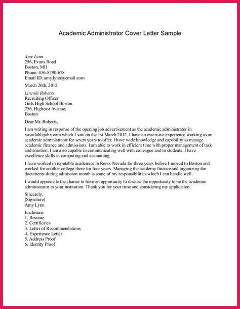 cover letter for college registrar position 28 images