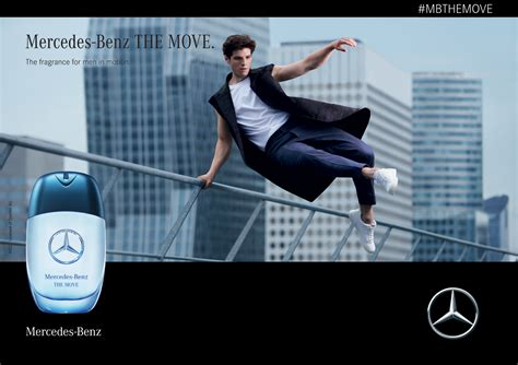 The Move Mercedes-Benz cologne - a new fragrance for men 2019
