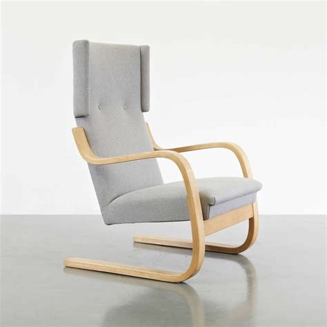 alvar aalto wingback lounge chair circa 1950 at 1stdibs