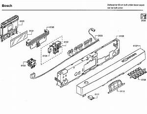 Bosch Model She43rl5uc  64 Dishwasher Genuine Parts