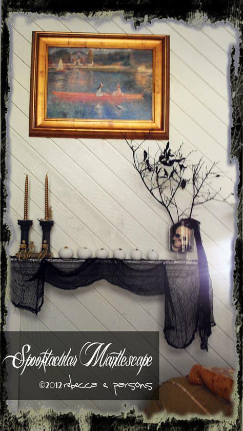 spooktacular halloween mantlescape   fireplace
