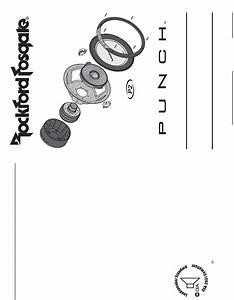 Rockford Fosgate Speaker P2d412 User Guide