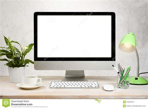 telecharger photo de bureau pc fond d 39 espace de travail avec des accessoires de pc de