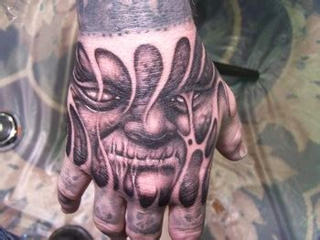 face tattoo images designs