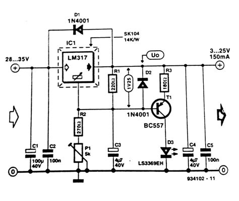 Regulator Short Circuit Indicator Diagram