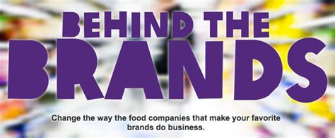 Behind The Brands Oxfam Holds Big F&b Accountable