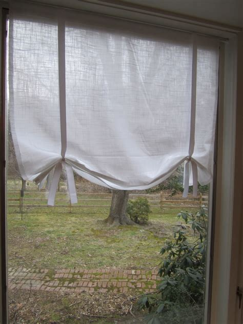 draped shade curtain swoon style and home diy tutorial make your own no sew