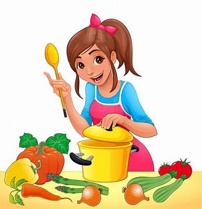 Cooking Vegetables Vector Illustration Transparent Background Several