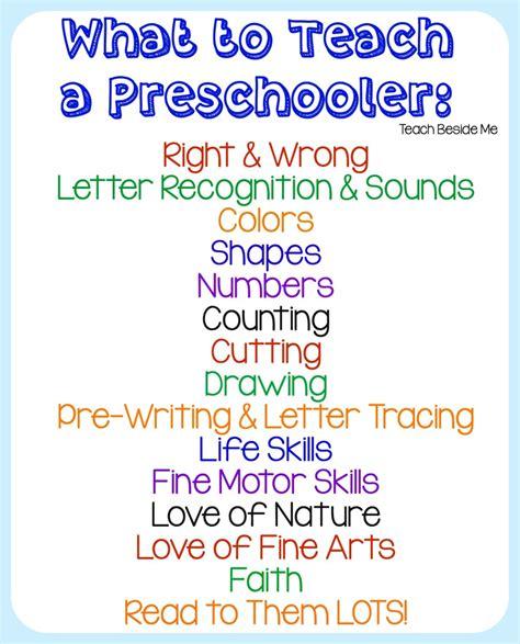 homeschool preschool teach beside me 572 | What To Teach a Preschooler 826x1024