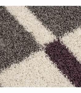 Langflor Teppich Weiß : hochflor langflor wohnzimmer shaggy teppich florh he 3cm grau weiss lila ebay ~ Frokenaadalensverden.com Haus und Dekorationen