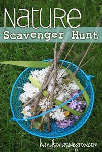 Nature Scavenger Hunt: Perfect for Young Kids