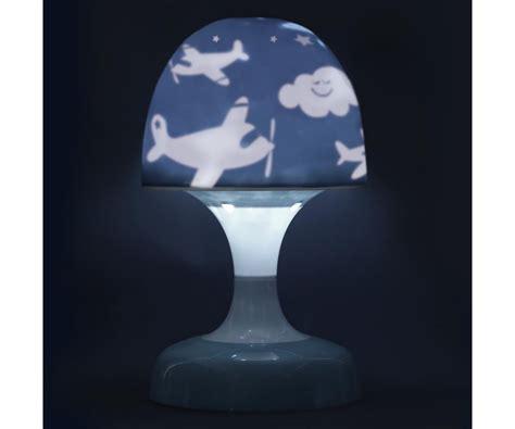 lampe veilleuse tactile enfant champignon led projection