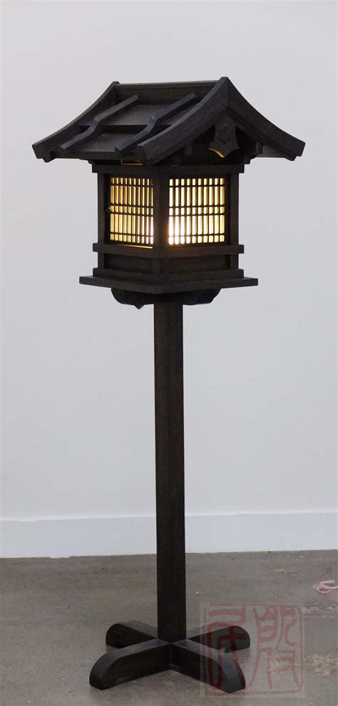 japanese wooden lantern outdoor wl eastern classics